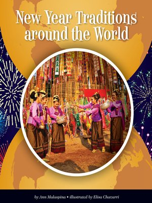 cover image of New Year Traditions around the World